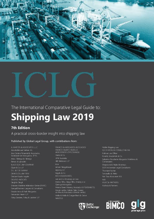 Shipping Law 2019